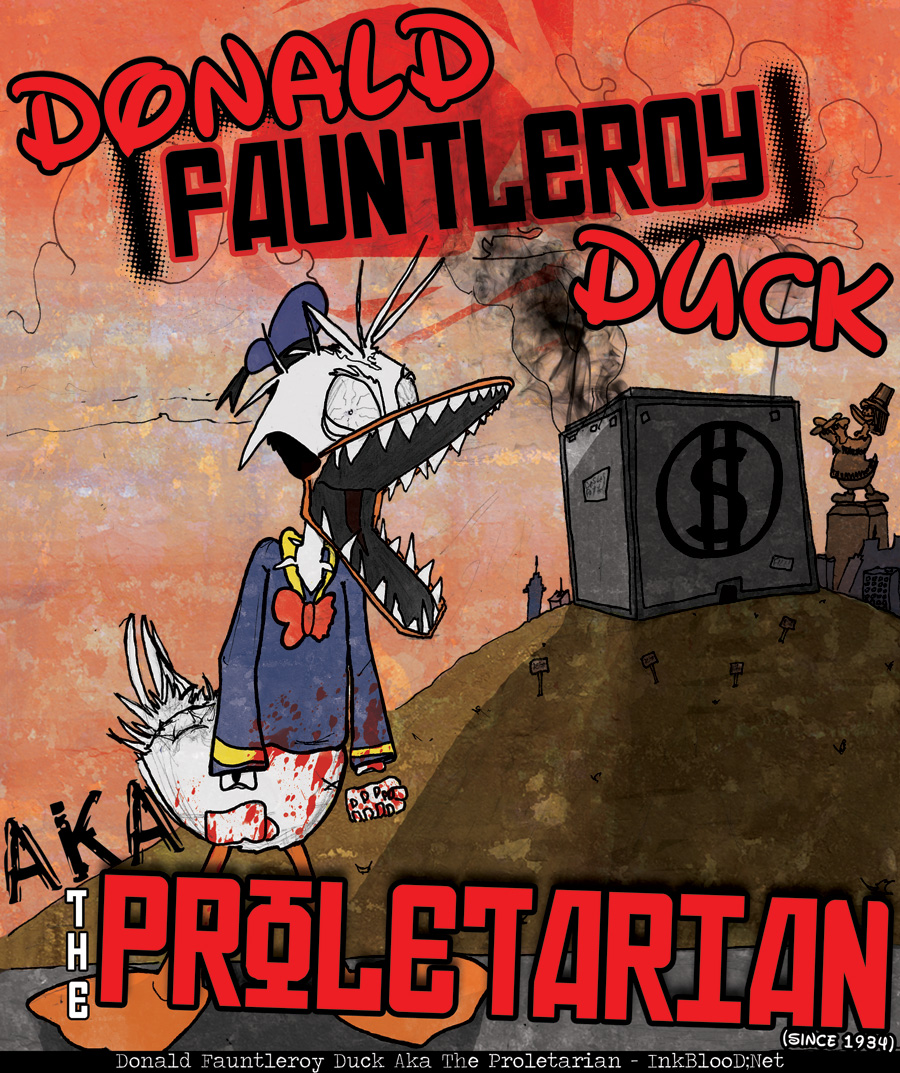 Donald-Fauntleroy-Duck-Aka-The-Proletarian---InkBlooD;Net