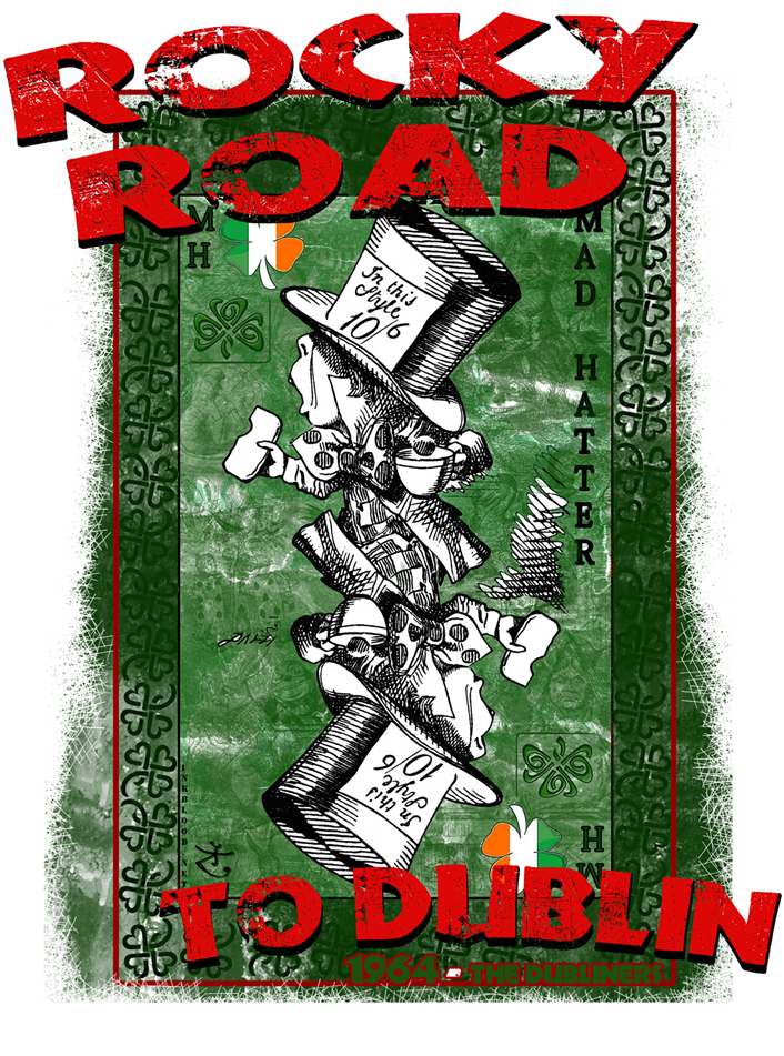Inkblood Mad Hatter Chapelier fou Rocky Road To Dublin the Dubliners Inkblood.net copy